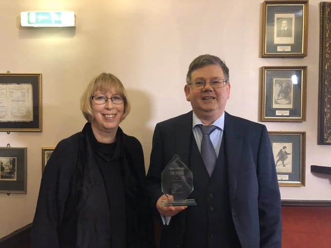 Proud winners of the Portsmouth News Guide Award 2019 for the Best Classical Act – for our performance of Bach's Mass in B minor last July